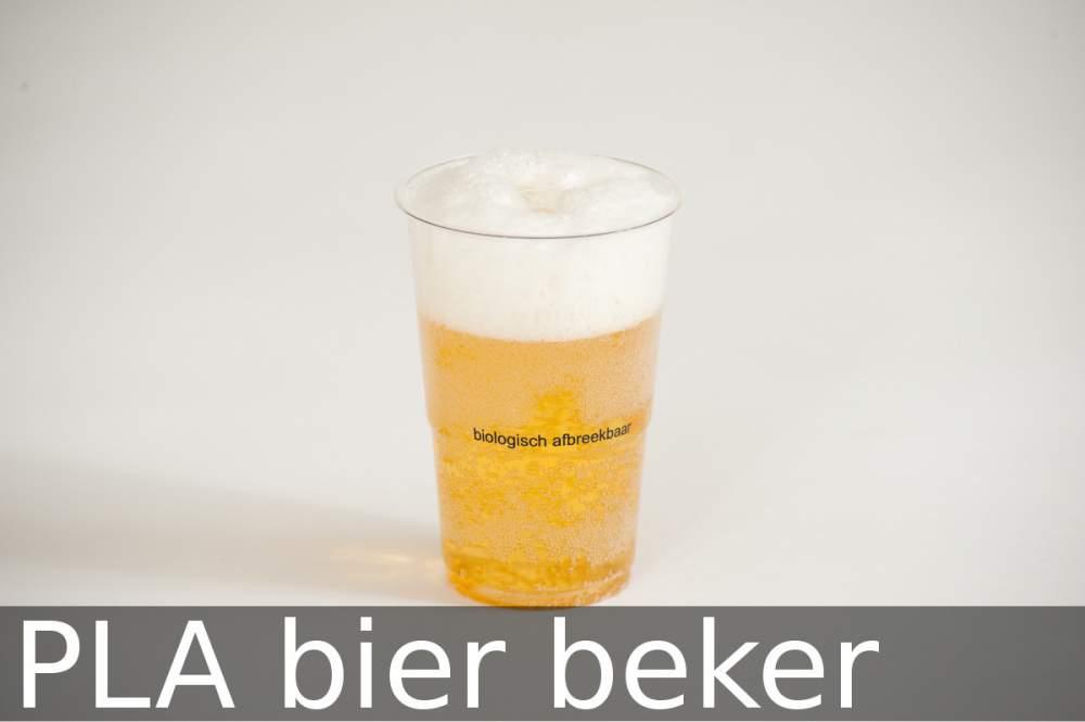 Te koop PLA bier beker (bioplastic)