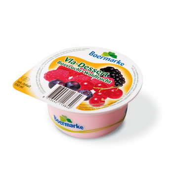 Te koop Vla-Dessert Bosvrucht