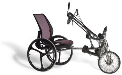Te koop BerkelBike Pro een complete driewieler met handbesturing