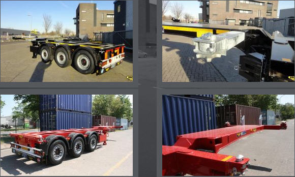 Te koop Container chassis
