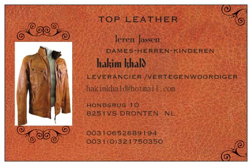 Te koop Top leather