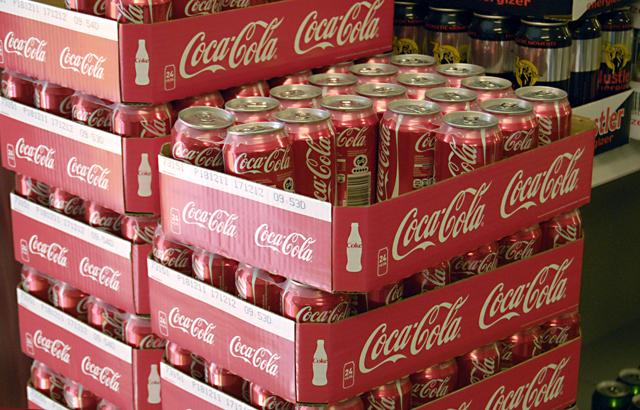 Te koop Coca-Cola