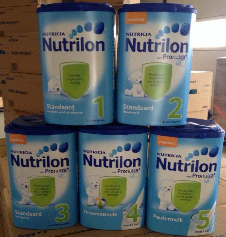 Te koop Nutrilon Nutricia standaard 1, 2,3,4 and 5 From Holland