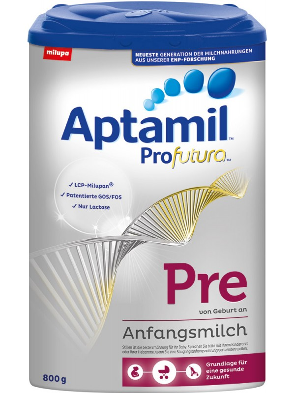 Te koop GERMAN ORIGIN APTAMIL MILUPA INFANT BABY POWDER ( APTAMIL PRE MIT PRONUTRA ANFANGSMILCH 800G )
