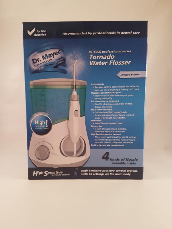 Te koop  Dr. Mayer: Tornado Water Flosser Artikelnummer: WT6000