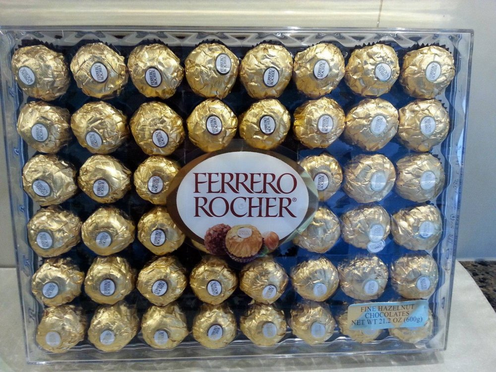 Ferrero Rocher chocolates T3, T16, T24, T25, T30