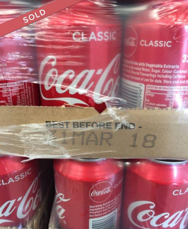 Te koop Coca Cola Classic 330ml kan