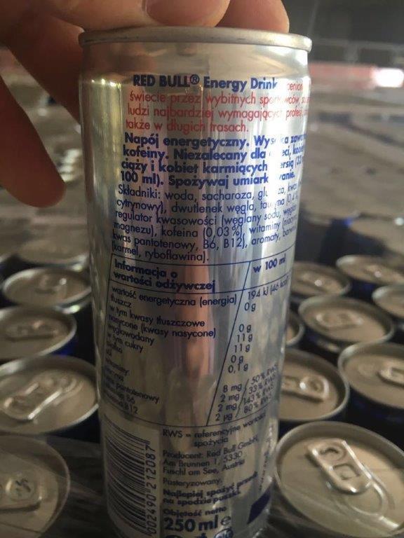 Te koop Energiedrankje Red Bull 250ml Kan