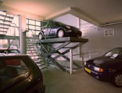 Auto lift schaarhef tafels