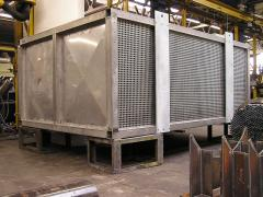 Air heating plants