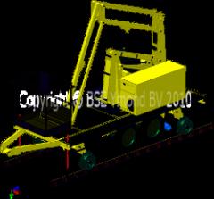 Railweg-aanhangwagenhoogwerker