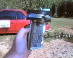 Hydrogen hybrid motor