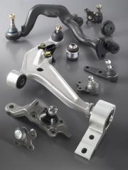 Suspension arms - Ball joints - Mountings
