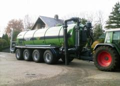 Transport - Bemestertank 4-asser