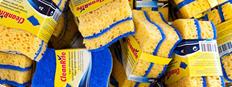 Household sponges