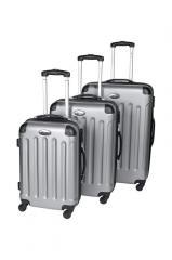 Комплект чемоданов ABS серый