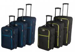 Комплект чемоданов ткань