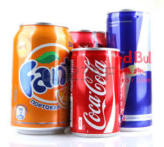 Redbull ,Coca cola,Heineken drinks
