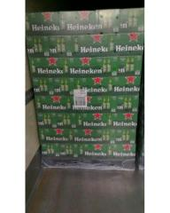 Dutch Origin Heineken Lager Beer in Cans and Bottle
