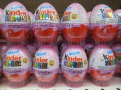 Kinder surprise chocolate eggs t72
