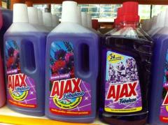 Ajax Universal liquid 1L Ajax Bathroom Spray 500ml
