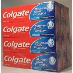 Colgate Toothpaste Triple Action 100ml, Cavity Protection, Signal 75ml, Listerine