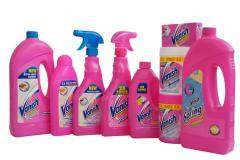 Vanish stain remover pink, Vanish Oxi Action 500g, Harpic Power Plus 750ml