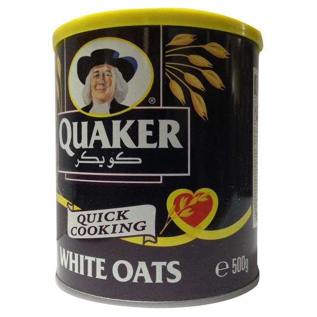 quaker_quick_cook_white_oats_500g_tin