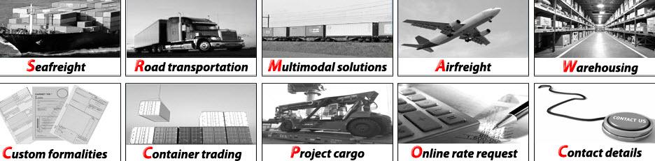 Bestelling Freight forwarder