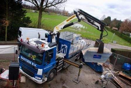 Bestelling Container-en kraanwagens