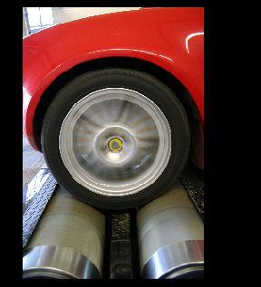 Bestelling Rolling road motor afstemming