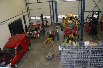 Bestelling Race Engine Development